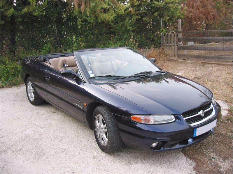 1998 chrysler stratus cirrus cabrio 2 0 122 cui. Black Bedroom Furniture Sets. Home Design Ideas